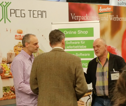 PCG Team at Biofach 2017